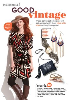 fall trend 2012: good vintage  get noticed in this retro-chic vibe