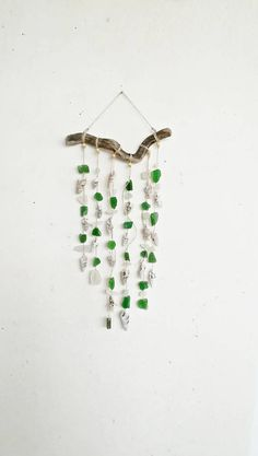 "SALE 20"" #driftwood #driftwoodart #suncatchers #beachdecor #windchime #seashell #seaglass #handmade #mrsbeachcomber"