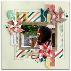 Rochelle Spears: Projects from the Back Porch Memories Kit
