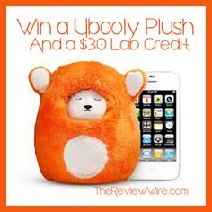 Win a Ubooly Pet (RV $29.95) & $30.00 credit to the Ubooly Lab {Total RV $60}