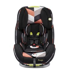 The Snugli All-In-One Car Seat stands out on all fronts and has the added benefits of accommodating children through all of their seat/booster years!