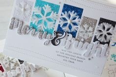 Nichol Spohr LLC: Simon Says Stamp DieCember Blog Hop | Snowflakes and Sparkles