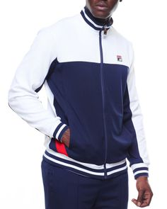 cb4b3068a19 Find Tiebreaker Track Jacket Men s Outerwear from Fila   more at DrJays.