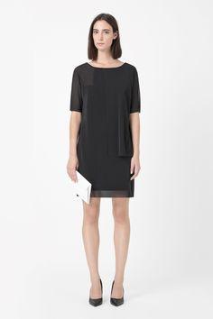 COS | Sheer layered dress