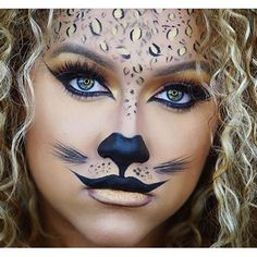 Halloween Inspo Cheetah Girl  @beautylooksbyd | #makeup