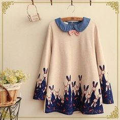 Buy 'Fairyland – Rabbit Printed Collared Top' with Free International Shipping at YesStyle.com. Browse and shop for thousands of Asian fashion items from China and more!