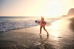 Photography by Elisabeth Caren.  Produced by Sara Siegel Productions.  Model pro surfer Anastasia Ashley.