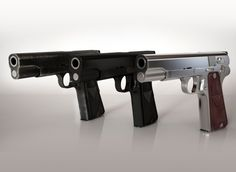 Vis w35 Gun High-detailed 3D Model 3D Model .max .c4d .obj .3ds .fbx .lwo .stl @3DExport.com by Ydesignservices