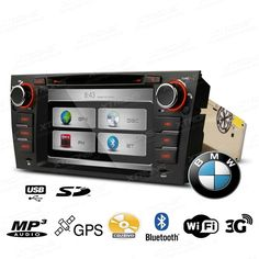 Radio Cd para BMW Con GPS Doble Can Bus Xtrons PX7190B