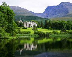 The Scottish Highlands..