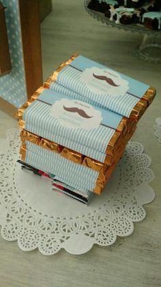 Mesa de postres, chocolate.