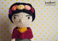 Amigurumi Frida Kahlo : Amigurumi crochet frida kahlo made by me kendi yaptıklarım