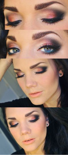 Model Eye Shadow Makeup Tutorial