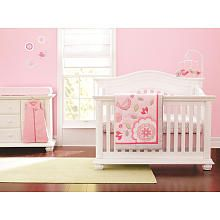 Just Born Girls Chloe 6 Piece Crib Bedding Set