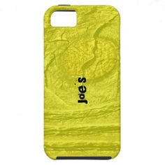 Yellow Knotty Wood iPhone 5 cases by Florals by Fred #zazzle #gift #photogift