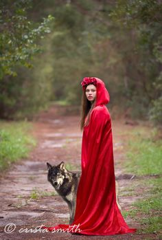 Little red riding hood fantasy session crista smith photography jacksonville, Florida