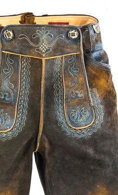 Only with patina they are correct: Lederhosen  Repinned by www.gorara.com