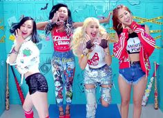 clothes weared in Shake it by Sistar - Google Search