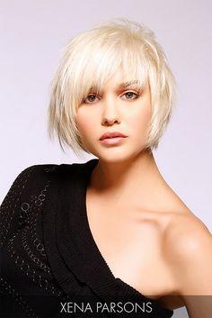 Blonde Shattered Bob Haircut