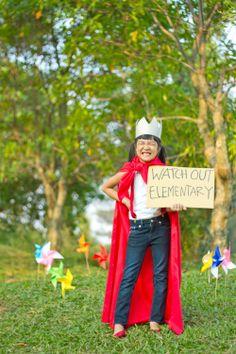 Abel's kindergarten graduation outdoor photoshoot session, Indonesia. #pixelpaper.
