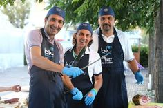 Pronti per la porchetta di ferragosto? Gli chef del Blu Restaurant iniziano ad affilare i coltelli!