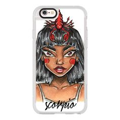 iPhone 6 Plus/6/5/5s/5c Case - Scorpio - Zodiac Series ($40) ❤ liked on Polyvore featuring accessories, tech accessories, iphone case, iphone hard case, iphone cases, iphone cover case and apple iphone cases