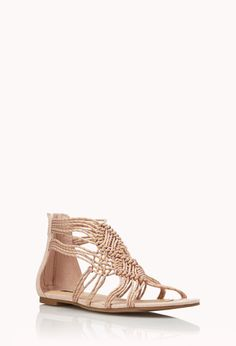 Boho Babe Woven Sandals   FOREVER21 #F21Spring #Sandals #MustHave I wish I could buy these they're so perfect