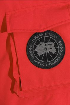 Vetements - Canada Goose Oversized Hooded Fleece-trimmed Shell Down Parka - Red - One size