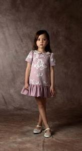Dorian Ho | Fashion | Kids | FW 2016 Little Dresses, Little Girl Dresses, Cute Dresses, Girls Dresses, Little Girl Fashion, Kids Fashion, Moda Kids, Dress Anak, Little Fashionista