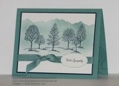 Offering Lagoon Sympathies by MaryEB - Cards and Paper Crafts at Splitcoaststampers