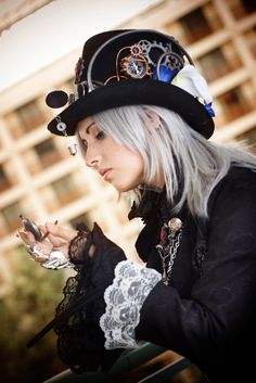 A Touch of Steam by Antiquity-Dreams.deviantart.com - Finger armor belongs to Sheniji - Photo was done by masa-kocha