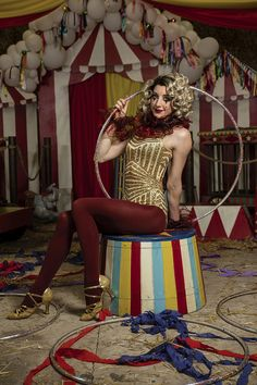 A fun Vintage Circus Party full of props and decor to inspire!!