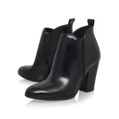 brandy bootie black mid heel ankle boots from Michael Michael Kors
