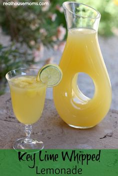 Drinks Key Lime Whipped Lemonade