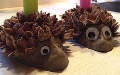 Lege med dekorationsler i november/december/januar Fun Crafts For Kids, Cute Crafts, Diy For Kids, Diy And Crafts, Arts And Crafts, Autumn Crafts, Nature Crafts, Christmas Projects, Christmas Gifts