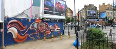 Anatomy of a Crackfox on Old street (Shoreditch,London) by Nychos