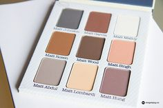 Megan Joy reviews our Meet Matt(e) Nude matte eyeshadow palette & shows you how to get a soft peach eye look.