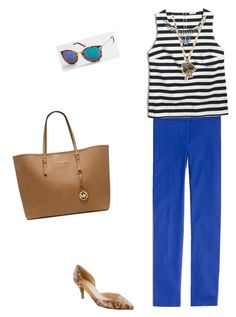 """Untitled #217"" by smag on Polyvore featuring J.Crew and Michael Kors"