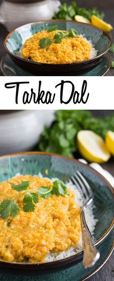 Tarka Dal Recipe - Erren's Kitchen - This super healthy, split pea verion of Tarka Dall is a delicious vegetable curry that will appeal to the taste buds of vegetarians and meat eaters alike. This recipe is packed full of flavor and a perfect warming meal on a chilly day.