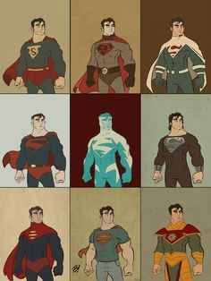 This is Superman: Man of Fashion by Dave Bardin.