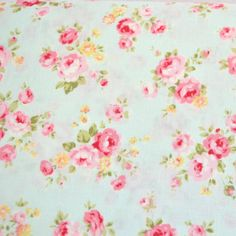 beautiful shabby-style fabrics.wish I could find some fabric like this