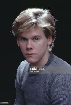 Portrait of American actor and musician Kevin Bacon, New York, 1980.