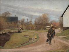 Springtime in Hals, Jutland | L. A. Ring | 1892 | Statens Museum for Kunst | CC0