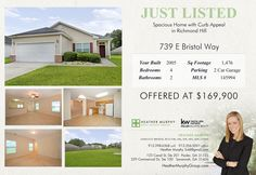 Check out http://HeatherMurphySold.com    for more info! Heather Murphy 912-398-6368 Keller Williams Realty-CAP 912-356-5001