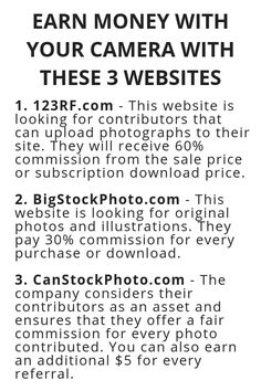 Earn Money With Your Camera With These 3 Websites Earn Money With Your Camera With These 3 Websites,Money Earn Money With Your Camera With These 3 Websites – Wisdom Lives Here Related posts:Get Paid.