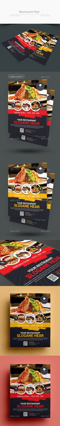 Restaurant #Flyer - #Restaurant #Flyers Download here   - restaurant flyer