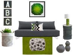 Color Combo Crush: Green & Gray