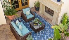 Elegant design for a coastal getaway.   BarclayButeraInteriors, InteriorDesign, Beach, Coast, Terranea