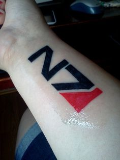 N7 tattoo submitted by Emma Breindel