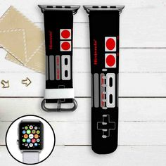 Nintendo Controller Custom Apple Watch Band Leather Strap Wrist Band Replacement